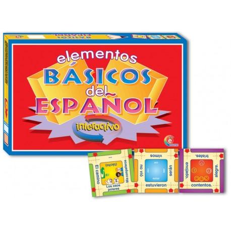 ELEMENTOS BASICOS DEL ESPAÑOL