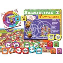 HORMIGUITAS PLATICADORAS