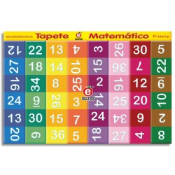 TAPETIJUEGO MATEMATICO PRIMARIA 3 X 2 M