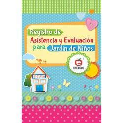 REGISTRO DE ASISTENCIA Y EVALUACION JARDIN DE NIÑOS
