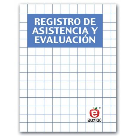 REGISTRO DE ASISTENCIA Y EVALUACION AZUL 1 GRUPO