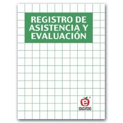 REGISTRO DE ASISTENCIA Y EVALUACION VERDE 2 GRUPOS