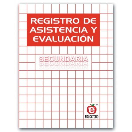 REGISTRO DE ASISTENCIA Y EVALUACION SECUNDARIA