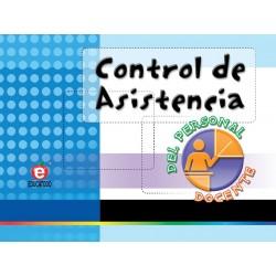 CONTROL DE ASISTENCIA PERSONAL DOCENTE